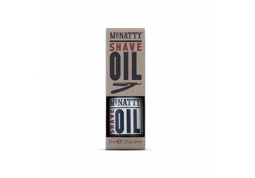 Mr. Natty Shave Oil - 30ml