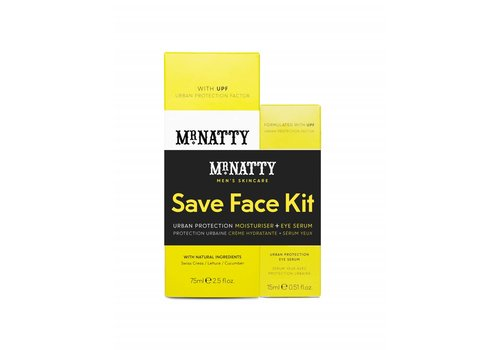 Mr. Natty Urban Protection Duo Save Face Kit