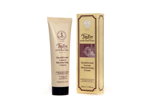 Taylor of Old Bond Street Sandalwood moisturising cream 100ml