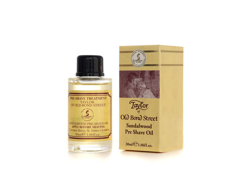 Taylor of Old Bond Street Pre shave Olie Sandalwood 30ml