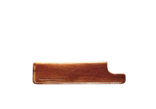 Chicago Comb Co. Kam Hoesje bruin small