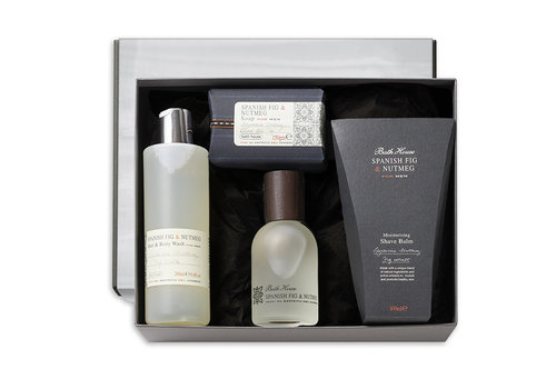 Bath House Luxury Cadeauset Spanish Fig & Nutmeg