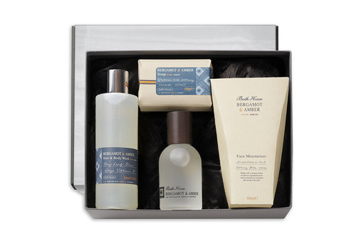 Bath House Luxury Cadeauset Bergamot & Amber