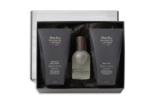 Bath House Cadeauset Shave Spanish Fig & Nutmeg