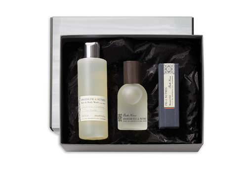 Bath House Luxury Beard Cadeauset Spanish Fig & Nutmeg