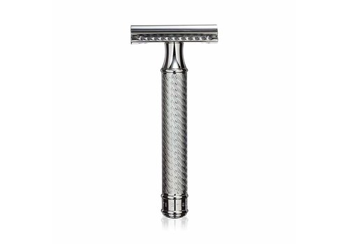 Baxter of California Safety Razor - Chroom Gesloten Kam