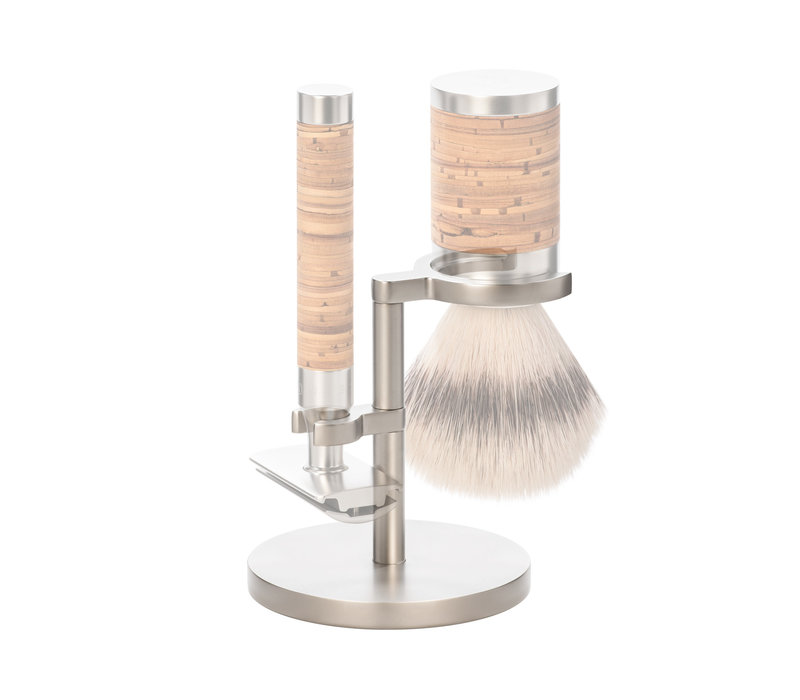 Houder Kwast en Safety Razor RVS