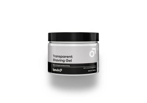 Beviro Transparante scheergel - 500 ml