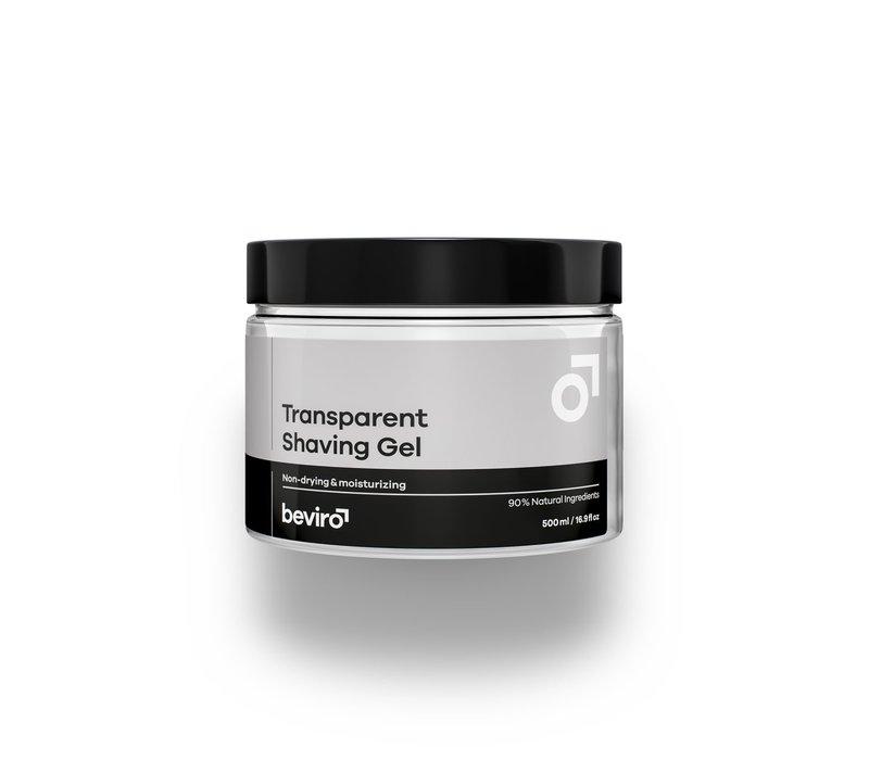 Transparante scheergel - 500 ml