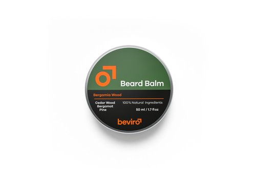 Beviro Baardbalsem - Bergamia Wood - 50 ml
