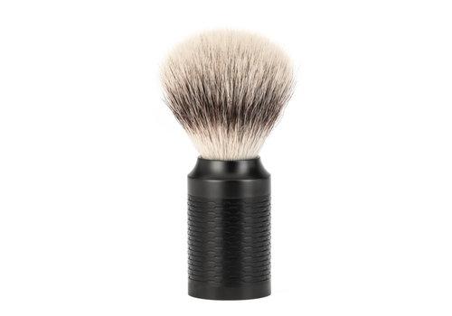 MÜHLE Scheerkwast Silvertip Fibre® - Zwart/ DLC coating