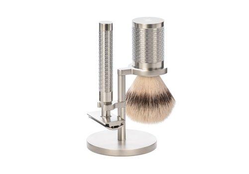 MÜHLE Scheerset Roestvrij staal Silvertip Fibre® - Rocca