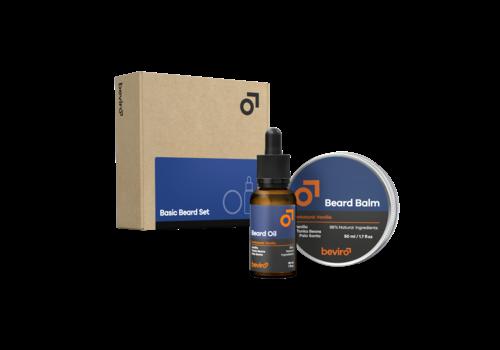 Beviro Basic Beard Set - Honkatonk Vanilla