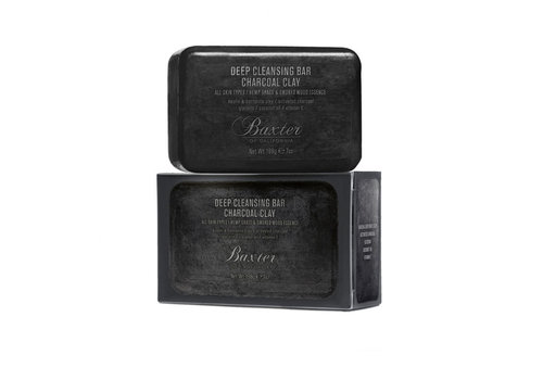 Baxter of California Deep Cleansing Bar Charcoal Clay 198g