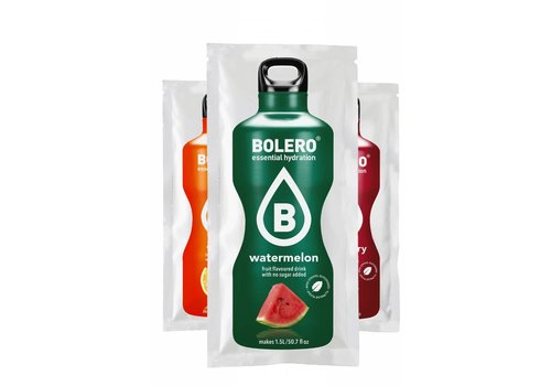 BOLERO 3 flavours trial package