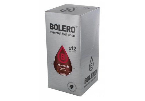 BOLERO Cherry Kola 12 sachets with Stevia