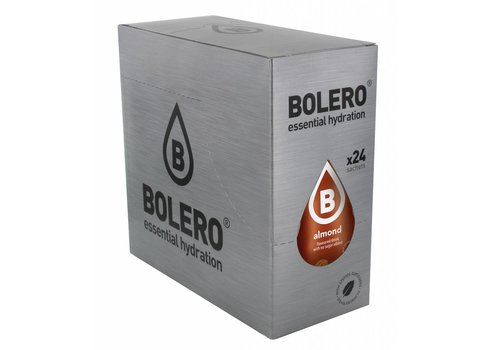 BOLERO Almond 24 sachets with Stevia