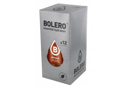 BOLERO Almond 12 sachets with Stevia