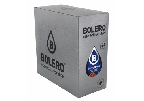BOLERO Berry Blend 24 sachets with Stevia