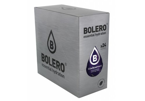 BOLERO Cassis 24 stuks met Stevia