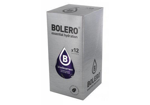 BOLERO Cassis 12 stuks met Stevia
