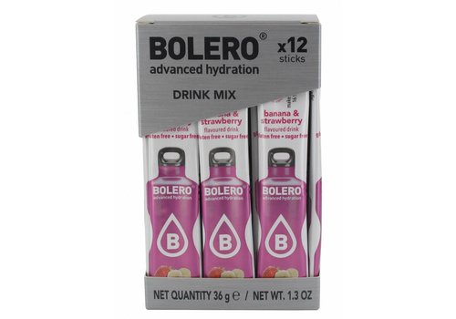 BOLERO Sticks - Banana & Strawberry