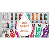 All 58 flavours package - 114 LITER 58 sachets