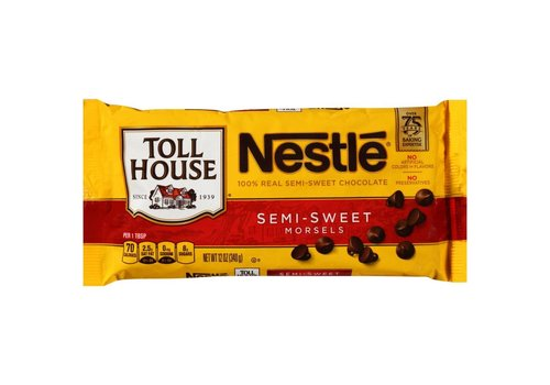 NESTLE SEMI-SWEET CHOCOLATE MORSELS 12oz (340g)