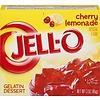 JELL-O CHERRY LEMONADE GELATIN 3oz (85g)
