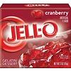 JELL-O CRANBERRY GELATIN 3oz (85g)