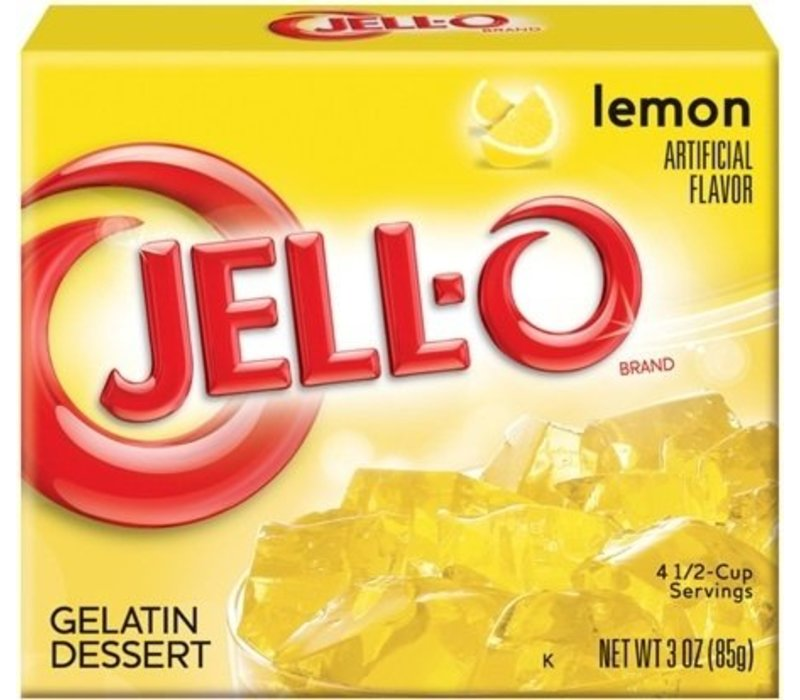 LEMON GELATIN 3oz (85g)