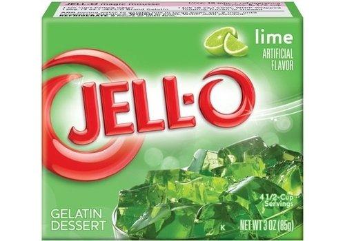 JELL-O LIME GELATIN 3oz (85g)