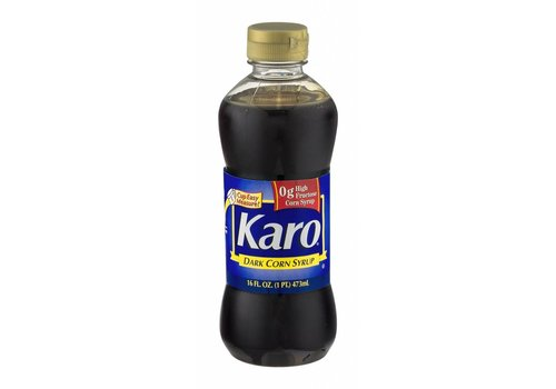 KARO BLUE CORN SYRUP-DARK 16oz (473ml)