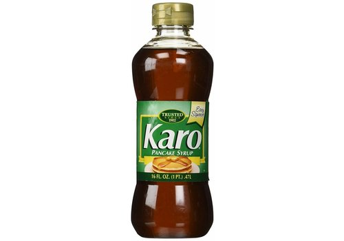 KARO GREEN CORN SYRUP-PANCAKE 16oz (473ml)