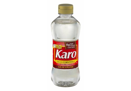 KARO RED CORN SYRUP-LIGHT 16oz (473ml)