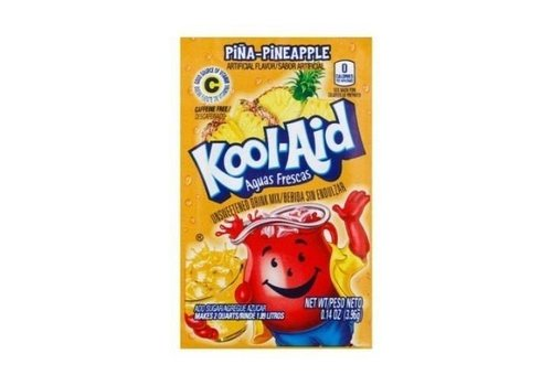KOOL-AID PINEAPPLE UNSWEETENED DRINK MIX 2QT