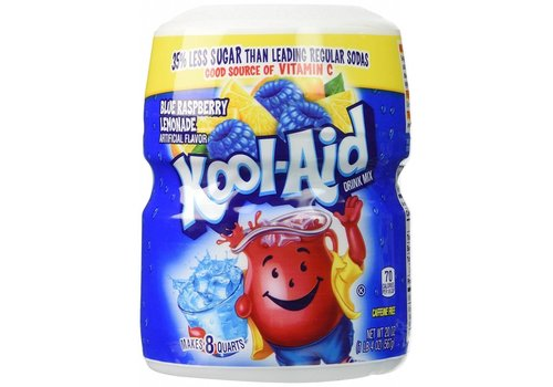 KOOL-AID BLUE RASPBERRY LEMONADE CANISTER 20oz (567g)