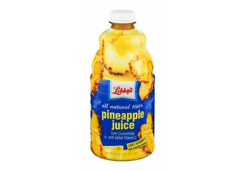 LIBBY'S PINEAPPLE JUICE 64oz (1.89L)