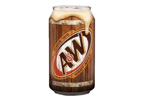 A&W ROOT BEER 12 oz