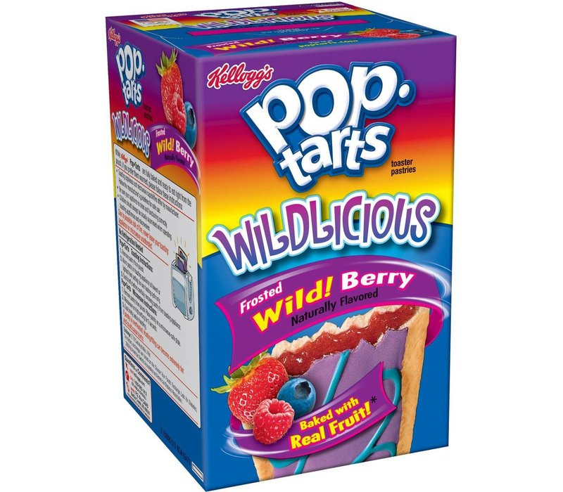 FROSTED POP TARTS WILD! BERRY 15.2oz (430g)