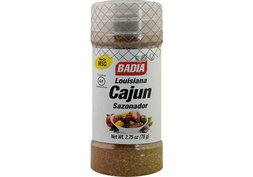 BADIA LOUISIANA CAJUN SEASONING 2.75oz (78g)