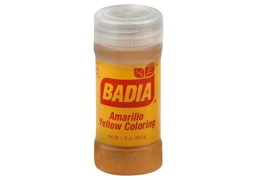 BADIA YELLOW COLORING AMARILLO 1.75oz (46g)