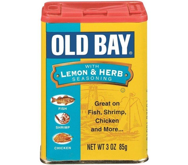 OLD BAY LEMON & HERB SEASONING 3oz (85g)