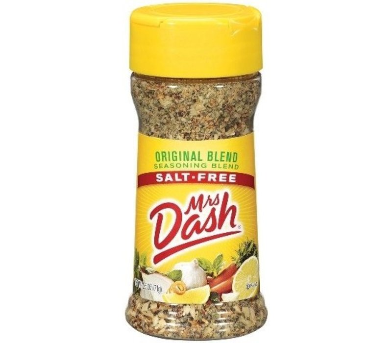 ORIGINAL SALT FREE ORIGINAL SEASONING MIX 2.5oz (71g)
