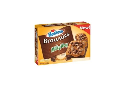 HOSTESS BROWNIES WITH MILKY WAY 9.1oz (258g)