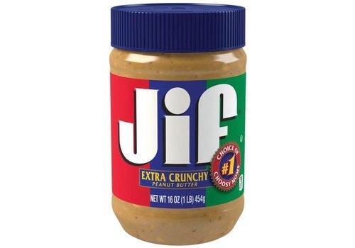 JIF JIF CRUNCHY PEANUT BUTTER 16oz (454g)
