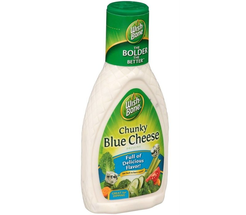 CHUNKY BLUE CHEESE SALAD DRESSING 8oz (237ml)