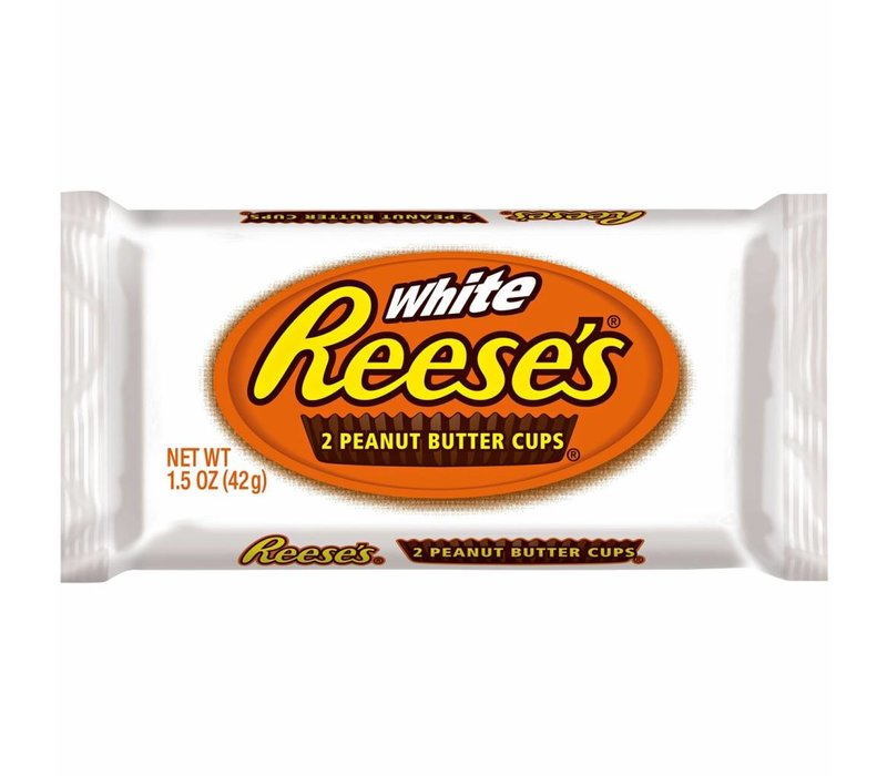 WHITE PEANUT BUTTER CUPS 1.5oz (42g)
