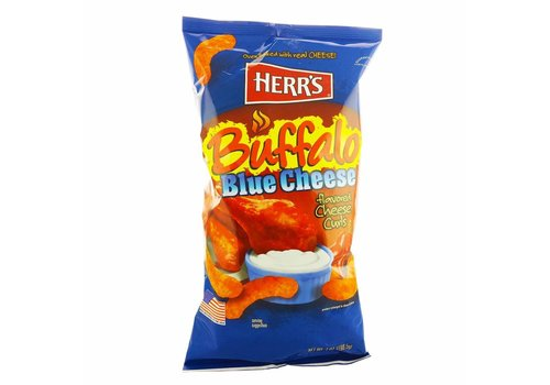 HERR'S BUFFALO BLUE CHEESE CHEESE CURLS 7oz (198.5g)