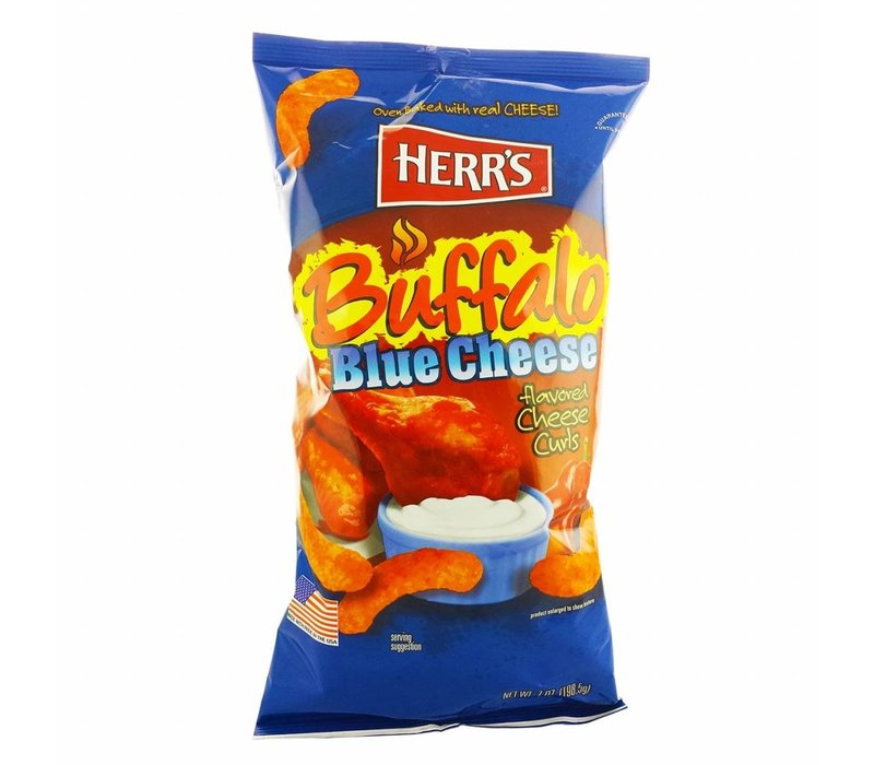 BUFFALO BLUE CHEESE CHEESE CURLS 7oz (198.5g)